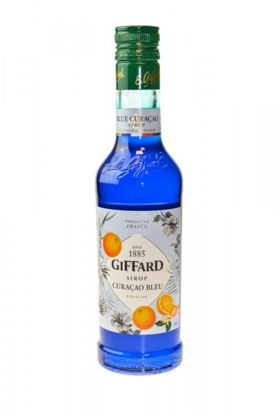 Giffard Blue Curacao Sirup - 0,35L