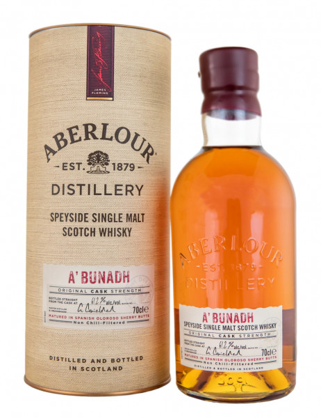 Aberlour A bunadh Highland Single Malt Scotch Whisky - 0,7L 61,2% vol