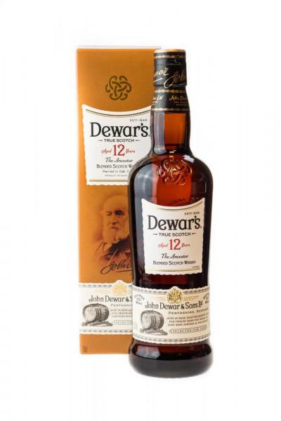 Dewars 12 Jahre Blended Scotch Whisky - 0,7L 40% vol