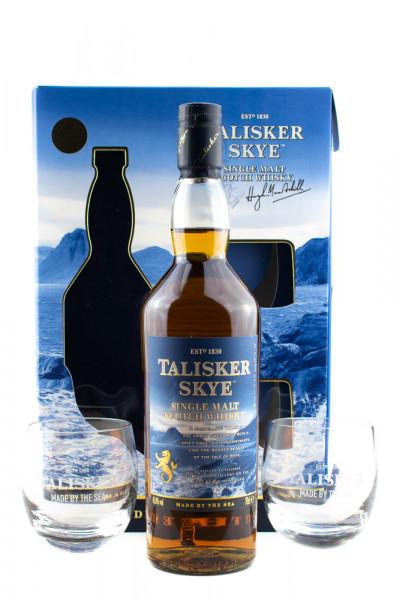 Talisker Skye GEPA mit 2 Gläsern - 0,7L 45,8% vol