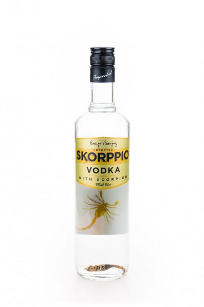 Skorppio Wodka mit Skorpion - 0,7L 37,5% vol