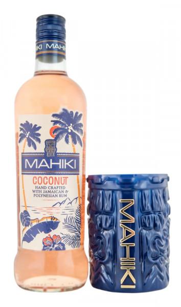 SET: Mahiki Coconut Rumlikör + Mahiki Becher - 0,7L 21% vol