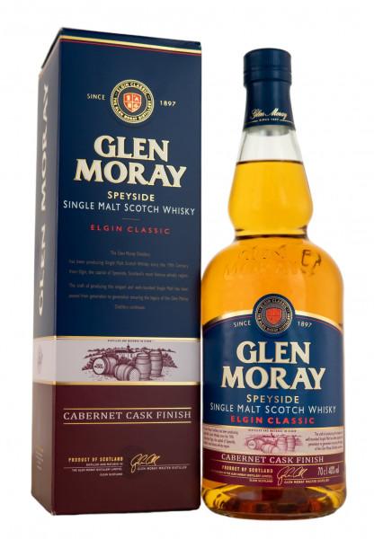 Glen Moray Single Malt Cabernet Sauvignon Cask Finish - 0,7L 40% vol