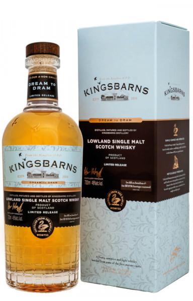 Kingsbarns Dream to Dram Lowland Single Malt Scotch Whisky - 0,7L 46% vol