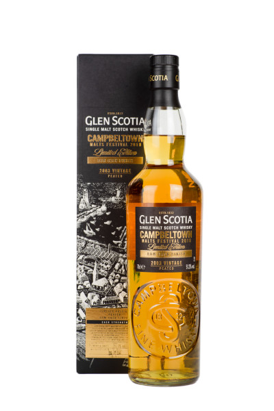 Glen Scotia 2003er Vintage Peated Rum Cask Finish - 0,7L 51,3% vol
