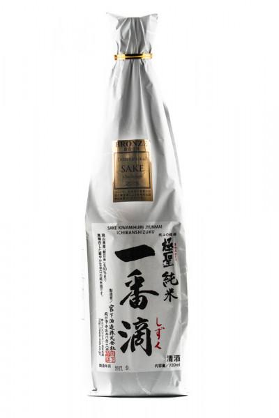 Sake Junmai Ginjo Ichiban Shizuku - 0,72L 15,5% vol