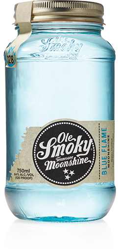 Ole Smoky Blue Flame Moonshine - 0,5L 64% vol