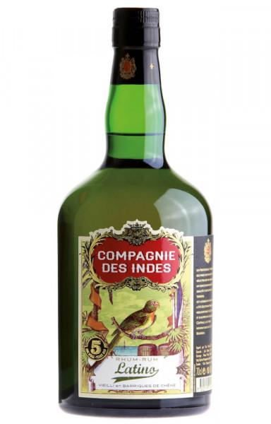 Compagnie des Indes Latino 5 Jahre Rum - 0,7L 40% vol