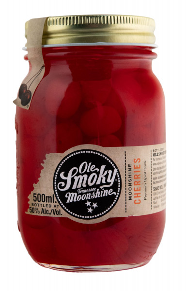 Ole Smoky Cherries Moonshine - 0,5L 50% vol