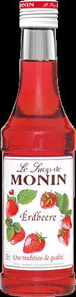 Monin Erdbeere Fraise Sirup - 0,25L