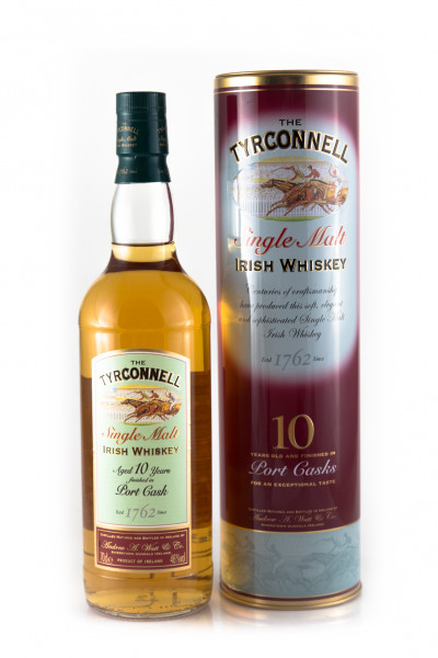 Tyrconnell 10YO Port Finish, Irish Whiskey - 46% vol - (0,7L)