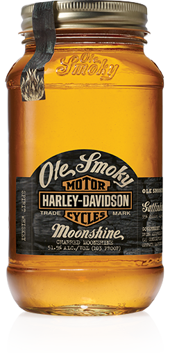 Ole Smoky Harley Davidson Moonshine - 0,5L 51,5% vol