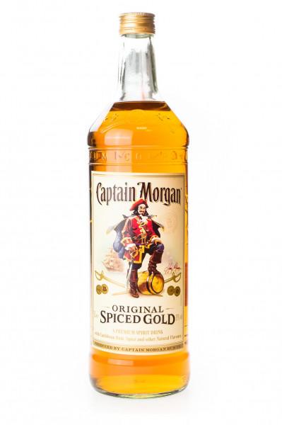 Captain Morgan Spiced Gold Spirituose - 3L 35% vol