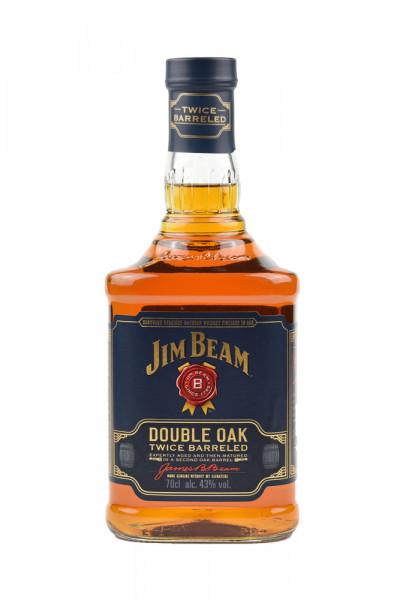 Jim Beam Double Oak Bourbon Whiskey - 0,7L 43% vol