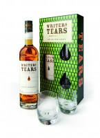 Writers Tears Irish Pot Still Whiskey mit Geschenkpackung plus zwei Gläser - 0,7L 40% vol