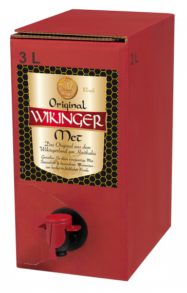 Wikinger Met 3 Liter Bag-Box - 3L 11% vol