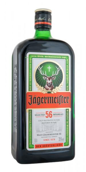 Jägermeister Kräuterlikör London Edition - 1 Liter 35% vol