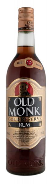 Old Monk Gold Reserve Rum - 0,7L 42,8% vol