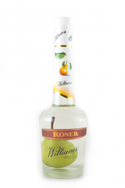Roner Williams mit Birne Obstler - 38% vol - (0,7L)
