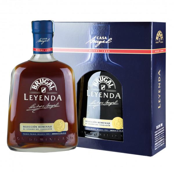 Brugal Leyenda Rum - 0,7L 38% vol