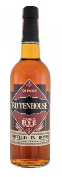 Rittenhouse 100 Proof Straight Rye Whisky - 0,7L 50% vol