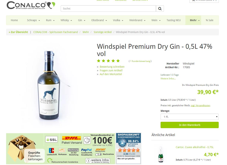 Conalco-Produkte-Screenshot-alt