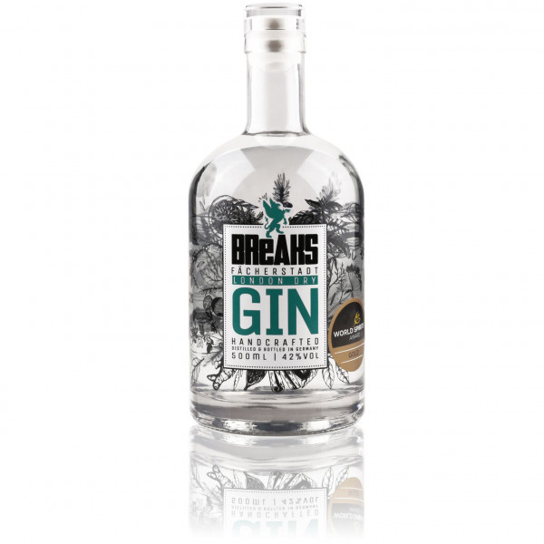 Breaks Gin - 0,5L 44% vol
