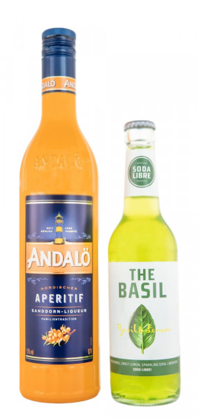 Andalö Original 0,7L + The Basil Limonade 0,33L - 1,03L 15% vol