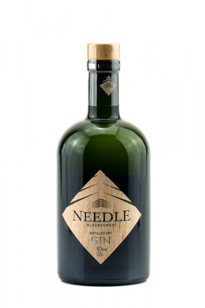 Needle Blackforest Distilled Dry Gin - 0,5L 40% vol