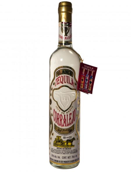 Corralejo Blanco, Tequila 100% Agave - 38% vol - (0,7L)