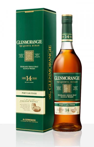 Glenmorangie Quinta Ruban 14 Jahre Single Malt Scotch Whisky - 0,7L 46% vol