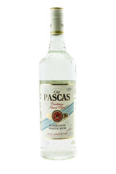 Old Pascas Ron Blanco White Rum - 1 Liter 37,5% vol