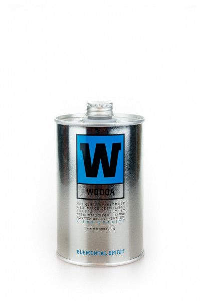 'W'' - Wodqa Ultra Premium Wodka - 0,5L 40% vol