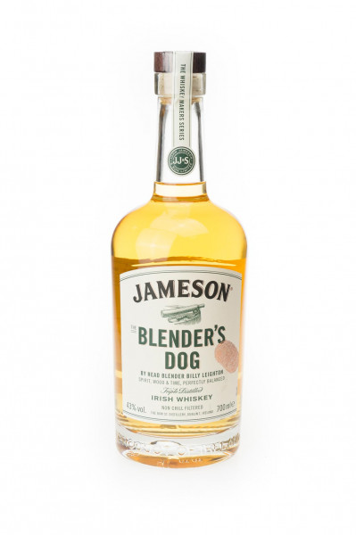 Jameson Blenders Dog Irish Whiskey - 0,7L 43% vol