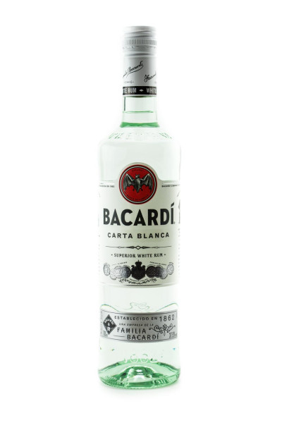 Bacardi Carta Blanca Superior white Rum - 0,7L 37,5% vol