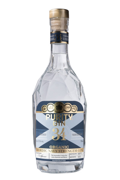 Purity Navy Strength Organic Gin - 0,7L 57,1% vol