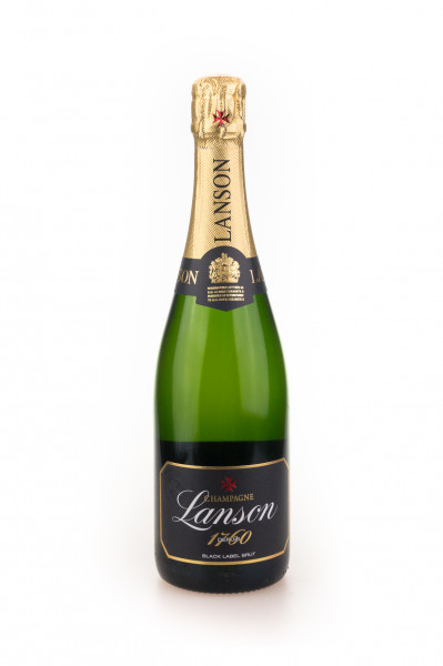 Lanson Black Label Brut Champagner - 0,75L 12,5% vol