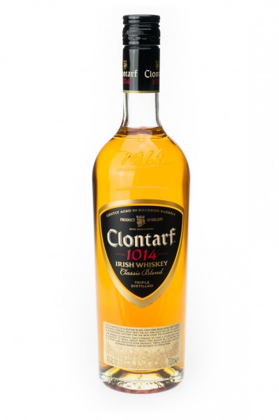 Clontarf Classic Blend Black Label Irish Whiskey - 0,7L 40% vol