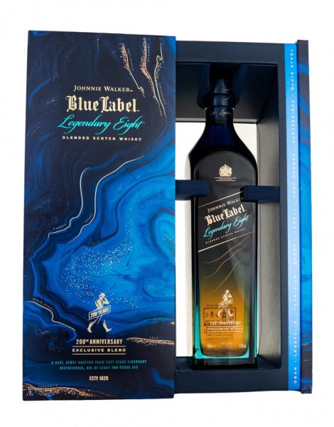 Johnnie Walker Blue Label Legendary Eight - 0,7L 43,8% vol
