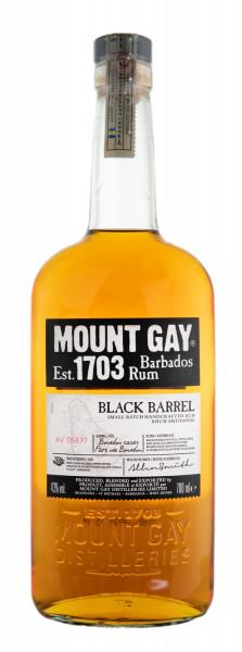 Mount Gay Black Barrel Rum - 0,7L 43% vol