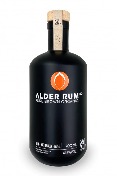 "ALDER RUM BIO ""PURE.BROWN.ORGANIC"" - 0,7L 41,5% vol"