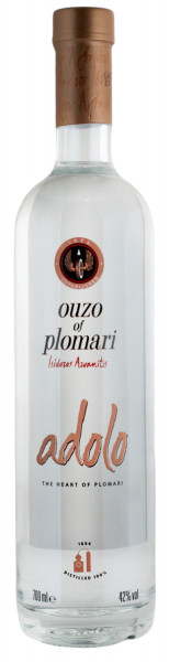 Ouzo of Plomari Adolo - 0,7L 42% vol