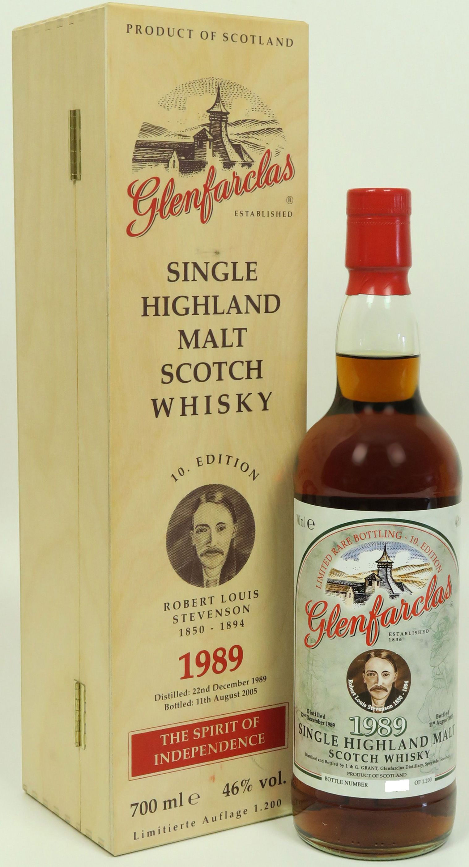 Glenfarclas Edition No. 10 Robert Louis Stevenson