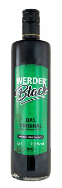 Werderblack Lakritz-Likör - 0,7L 21,5% vol