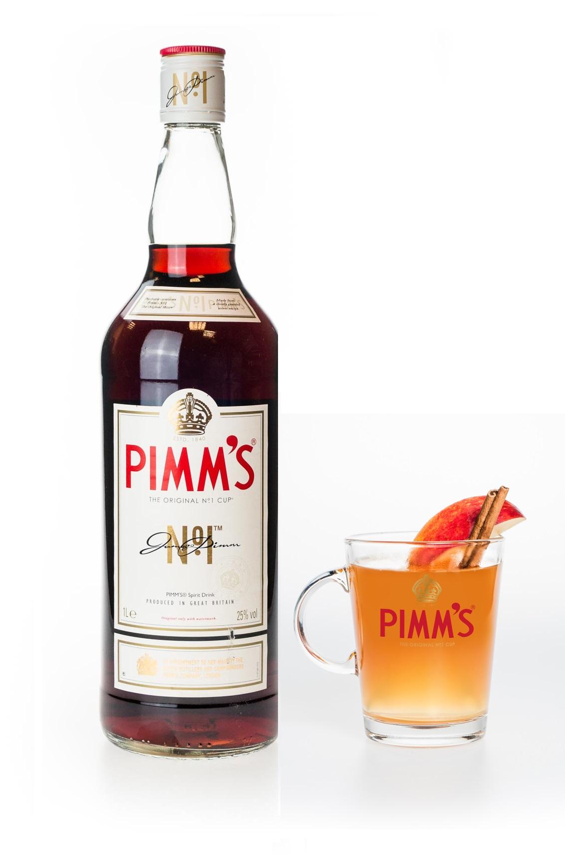 Pimms mit Glas