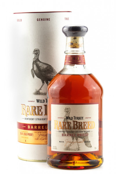 Wild Turkey Rare Breed Barrel Proof Kentucky Straight Bourbon Whiskey - 0,7L 58,4% vol
