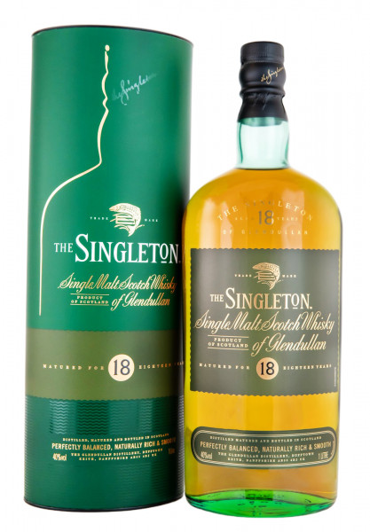 Singleton of Glendullan 18 Jahre Single Malt Scotch Whisky - 1 Liter 40% vol