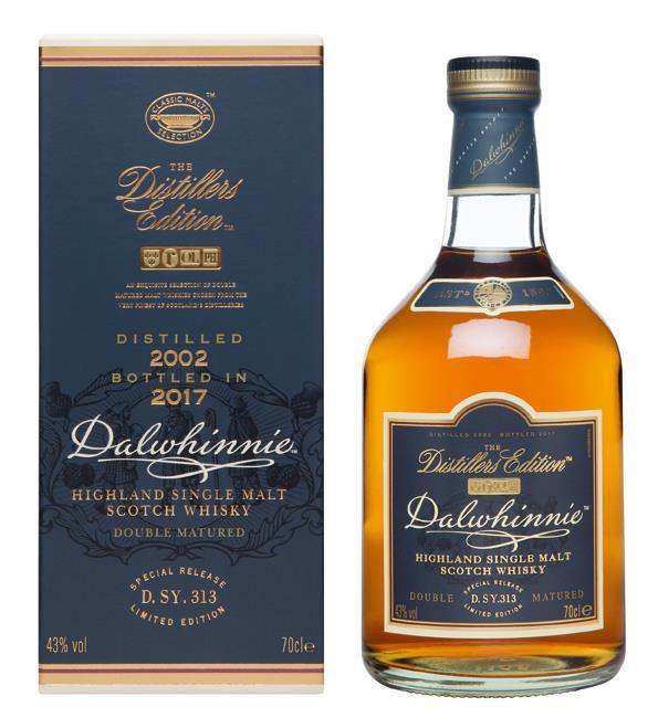 Dalwhinnie Distillers Edition 2002/2017
