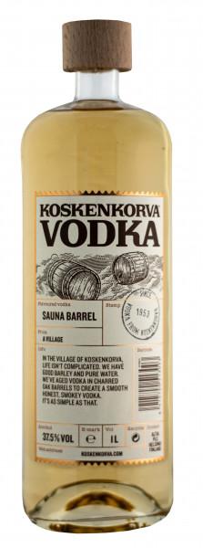 Koskenkorva Sauna Barrel Vodka - 1 Liter 37,5% vol