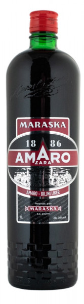 Maraska Amaro Zara - 1 Liter 30% vol